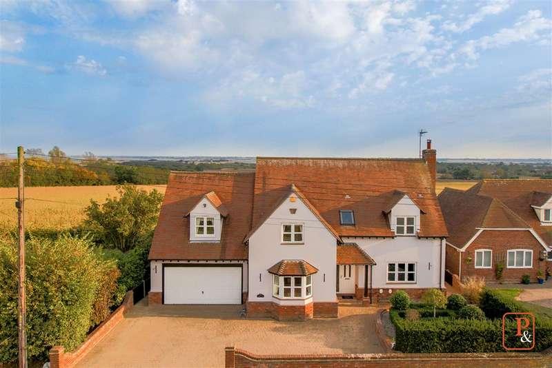 4 Bedrooms Detached House for sale in Fleetview, Abberton Road, Fingringhoe, Colchester, CO5