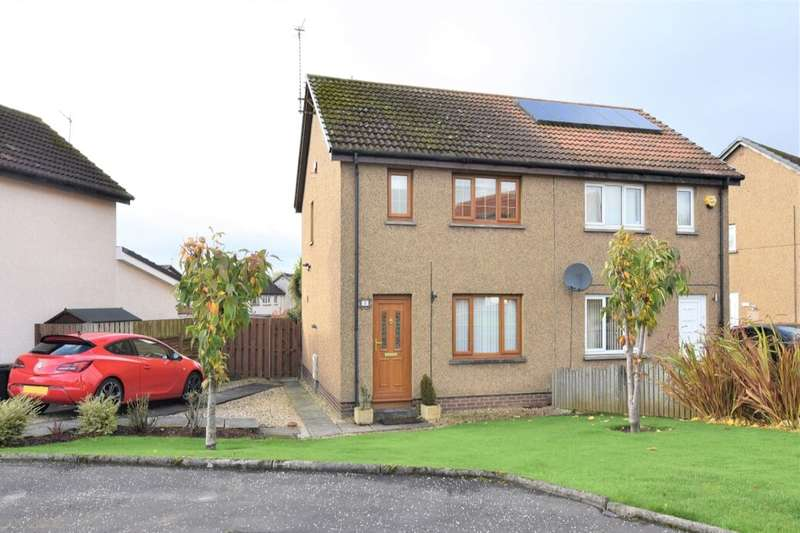 3 Bedrooms Semi Detached House for sale in Roman Place, Bellshill, ML4