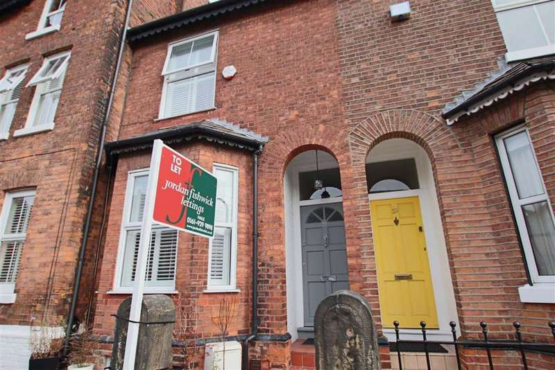 3 Bedrooms Terraced House for rent in Byrom Street, Hale, Hale