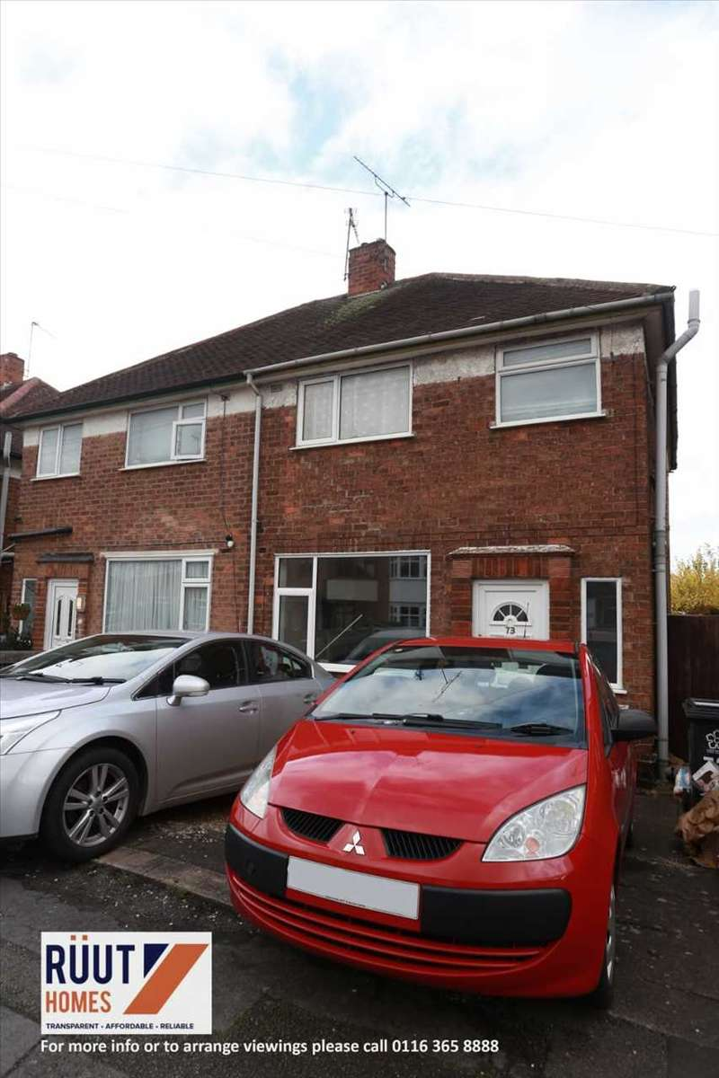 3 Bedrooms Semi Detached House for sale in Heavencrest Drive, Leicester