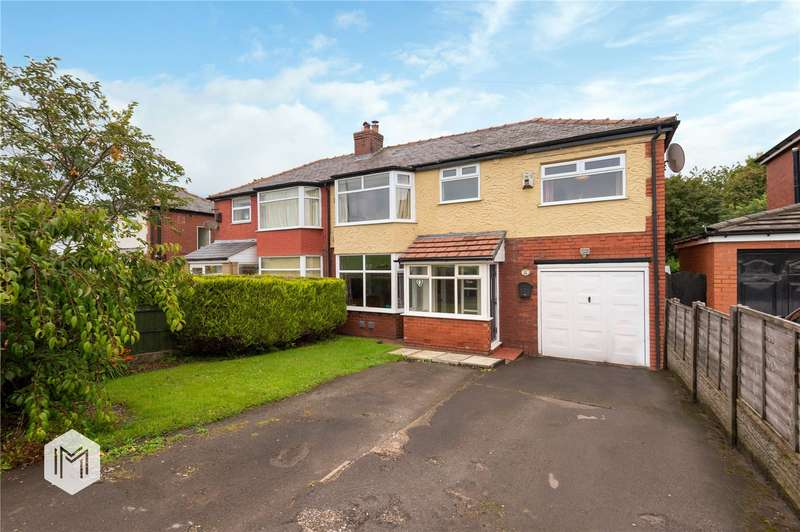4 Bedrooms Semi Detached House for sale in Salford Road, Over Hulton, Bolton, Greater Manchester, BL5