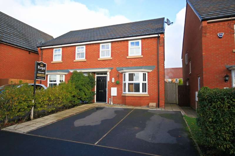 3 Bedrooms Semi Detached House for sale in Findley Cook Road, Highfield, Wigan, WN3 6GJ