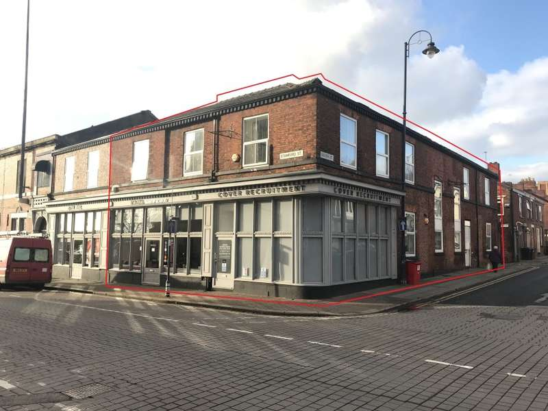 Mixed Use Commercial for sale in 224-224A Stamford Street & 15-19 Booth Street, Ashton Under Lyne, Greater Manchester