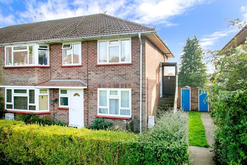 2 Bedrooms Maisonette Flat for sale in Water Ridges, Oakley, Basingstoke, RG23