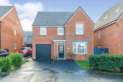 4 Bedrooms Detached House for sale in Arden Drive, Leyland, PR25