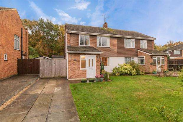 3 Bedrooms Semi Detached House for sale in Pierrefondes Avenue, Farnborough, Hampshire