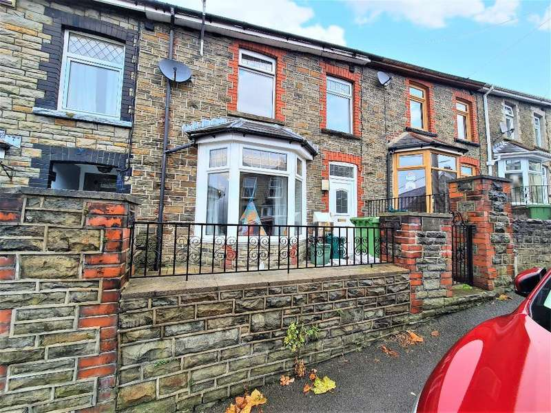 3 Bedrooms Terraced House for sale in Richmond Road, Caegarw, Mountain Ash, RCT, CF45 4AN
