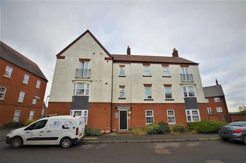 2 Bedrooms Apartment Flat for rent in Salford Way, Church Gresley, Swadlincote