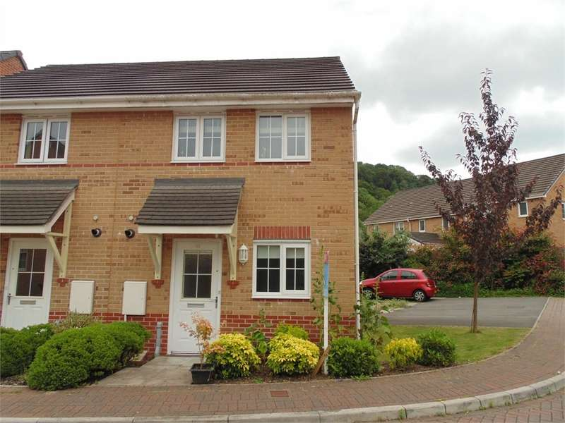 2 Bedrooms Semi Detached House for rent in Mill-Race, Abercarn, Newport, Caerphilly