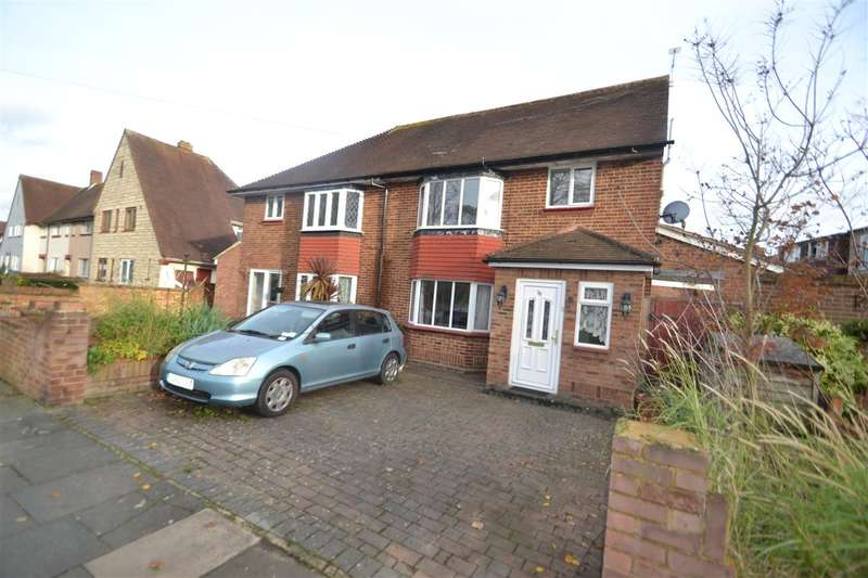 4 Bedrooms Semi Detached House for sale in Chertsey Road, Feltham