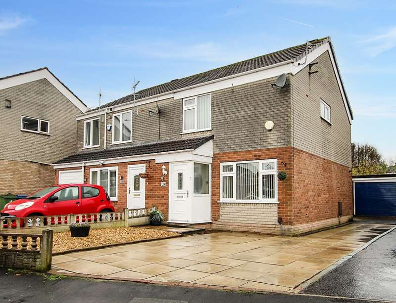 3 Bedrooms Semi Detached House for sale in Hodnet Drive, Ashton-in-Makerfield, Wigan, WN4