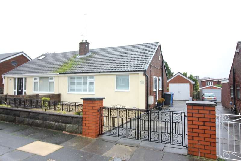 2 Bedrooms Semi Detached Bungalow for sale in Chantlers Avenue, Bury, BL8