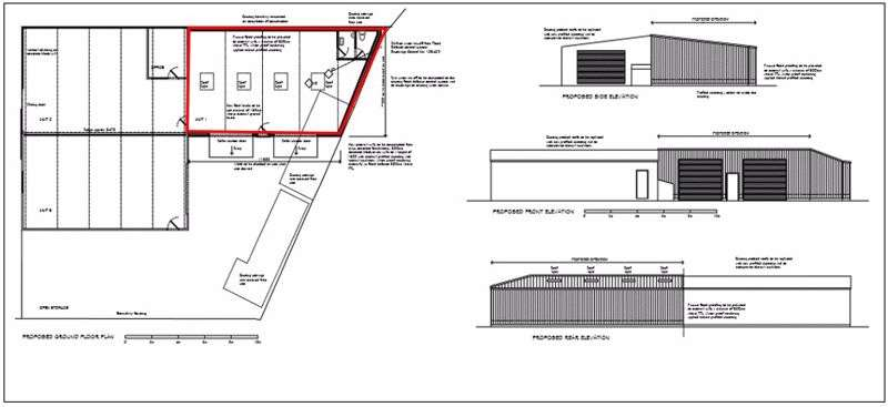 Property for rent in Workshop/Storage Unit at Moor Road, Banwell