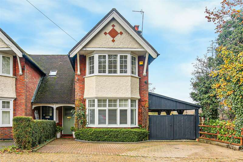 2 Bedrooms Semi Detached House for sale in Hurst Green Road, Oxted