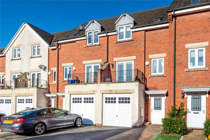 3 Bedrooms Town House for sale in St. Michaels Close, Charlton Kings, Cheltenham, Gloucestershire, GL53