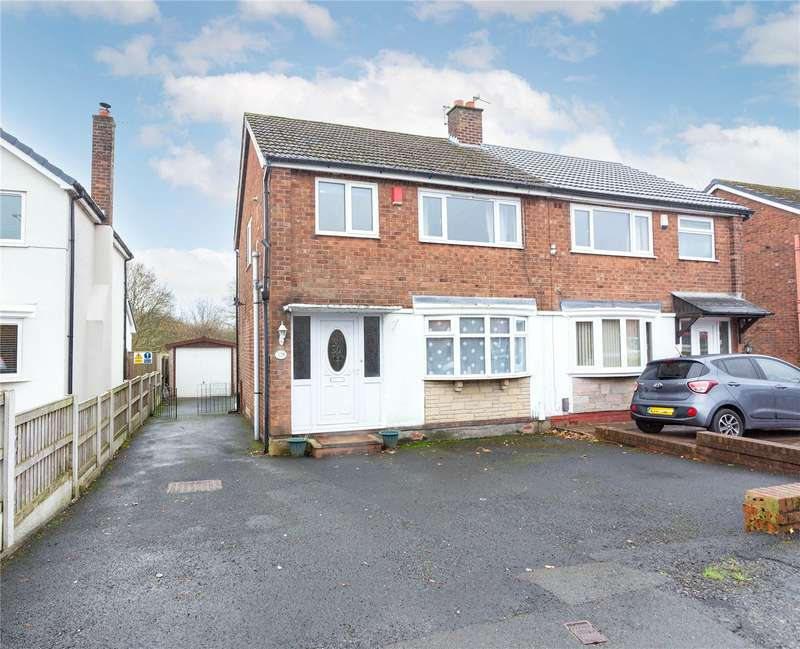 3 Bedrooms Semi Detached House for sale in Hough Fold Way, Harwood, Lancs, BL2