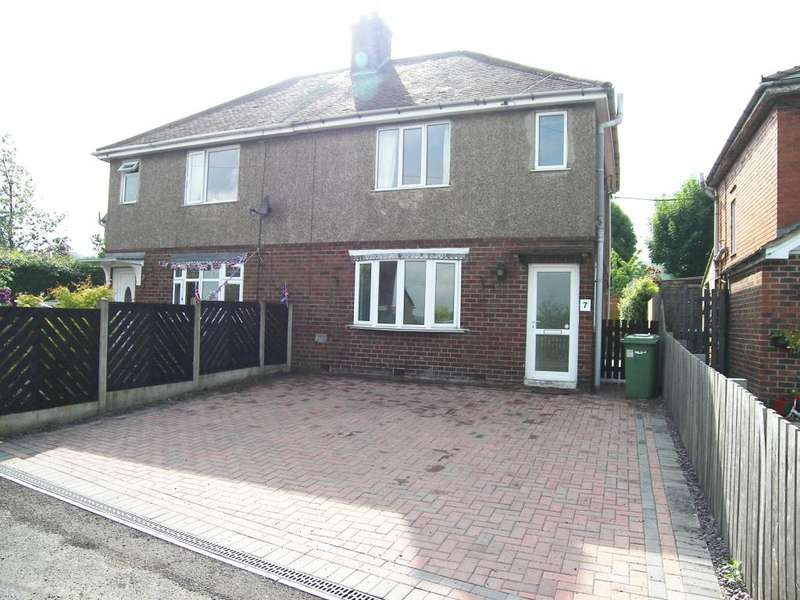 3 Bedrooms Semi Detached House for rent in Greenfields, Fritchley, Belper, Derbyshire, DE56