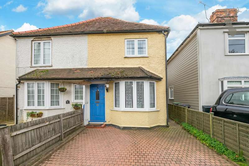 3 Bedrooms Semi Detached House for sale in Hastingwood Road, Hastingwood, Harlow