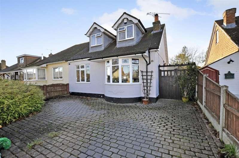 3 Bedrooms Semi Detached Bungalow for sale in Woodham Road, Benfleet