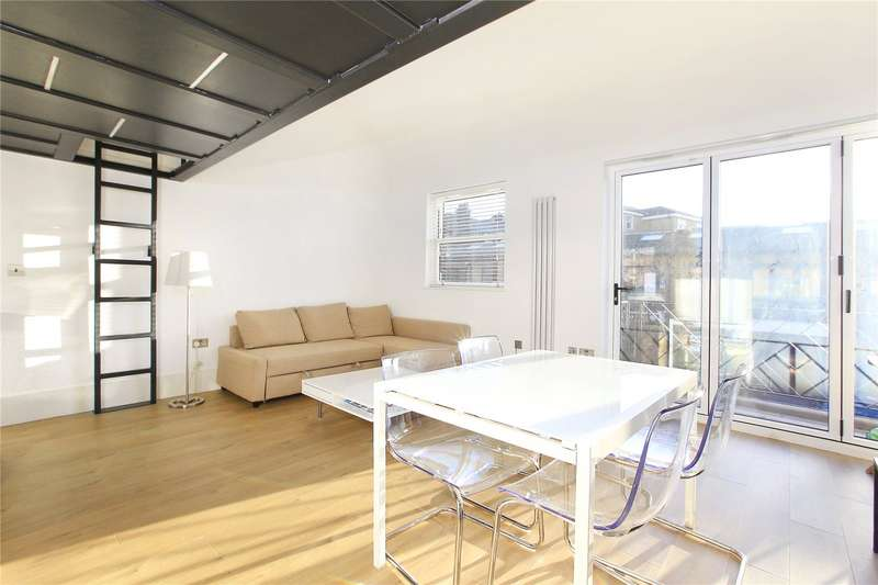 2 Bedrooms Flat for rent in Abbeville Mews, Clapham, London, SW4