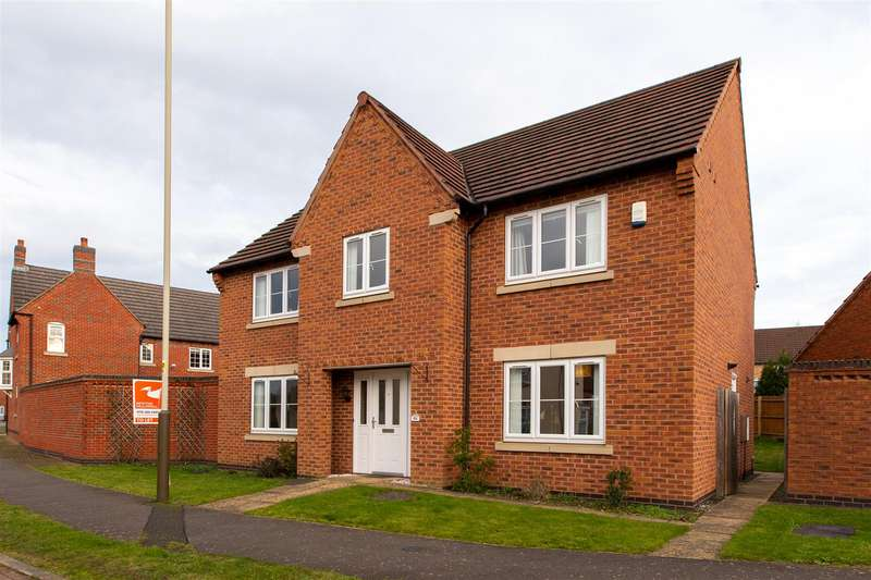 4 Bedrooms Detached House for rent in Lady Hay Road, Leicester