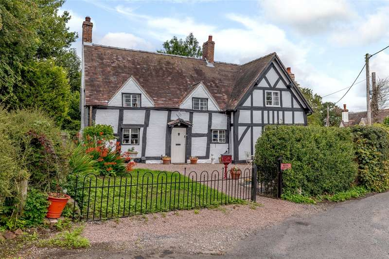 4 Bedrooms Detached House for sale in Rose Cottage, The Alley, Little Wenlock, Telford, TF6