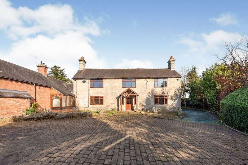 4 Bedrooms Detached House for sale in Betton, Market Drayton, TF9