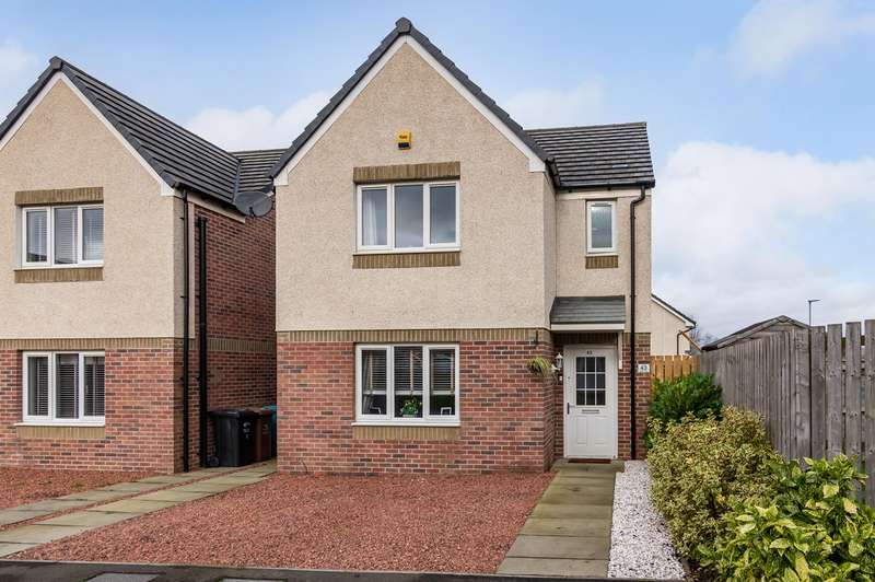 3 Bedrooms Detached House for sale in Tansay Drive, Chryston, Glasgow, G69