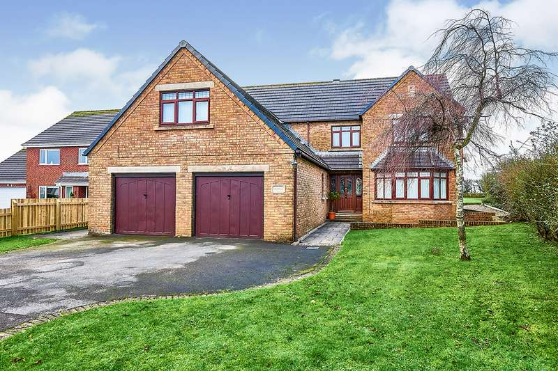 5 Bedrooms Detached House for sale in Netherfield Close, Summer Grove, Hensingham, Whitehaven, CA28