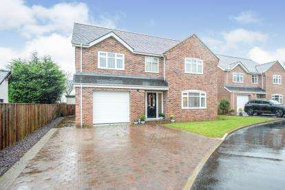 4 Bedrooms Detached House for sale in Stad Ty'n Llain, Hen Lon Dyfnia, Llanfairpwllgwyngyll, Anglesey, LL61