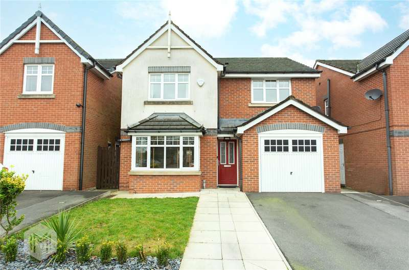 4 Bedrooms Detached House for sale in Higher Clough Close, Bolton, BL3
