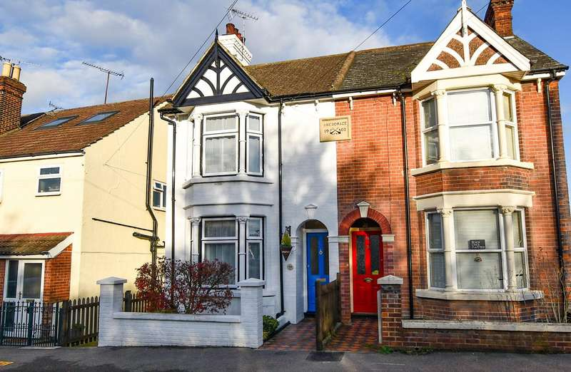 2 Bedrooms Semi Detached House for sale in Kent Road, Halling