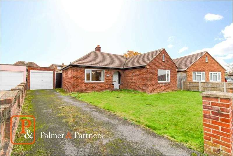 2 Bedrooms Detached Bungalow for sale in Hills Crescent, Prettygate, Colchester CO3