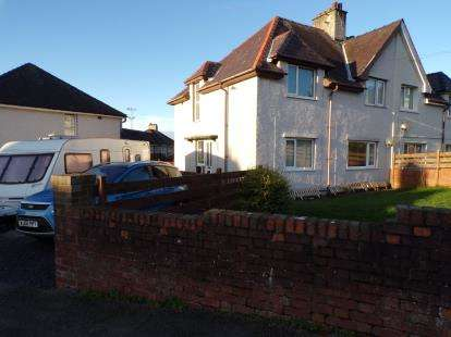 4 Bedrooms Semi Detached House for sale in Cae'r Ymryson, Caernarfon, LL55