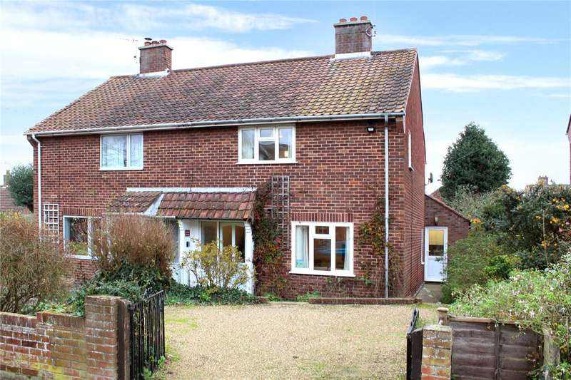2 Bedrooms Semi Detached House for sale in Cautley Road, Southwold, IP18