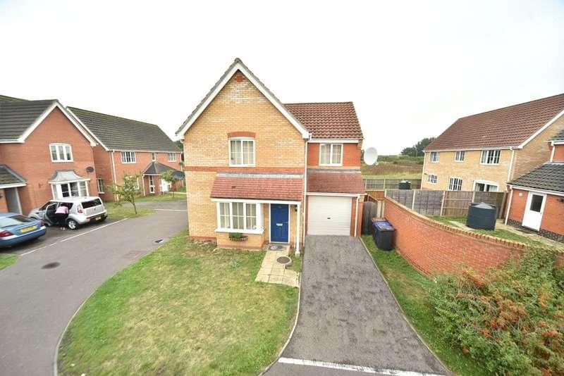 3 Bedrooms Detached House for rent in Linden Walk, Beck Row, Bury St. Edmunds, Suffolk, IP28
