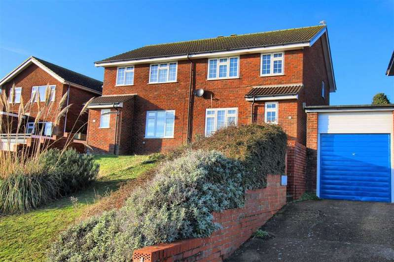 3 Bedrooms Semi Detached House for sale in Clementine Avenue, Seaford, East Sussex