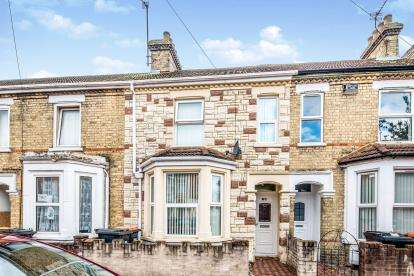 3 Bedrooms Terraced House for sale in Marlborough Road, Bedford, Bedfordshire, .