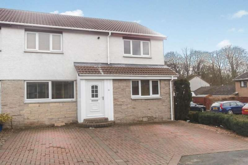 4 Bedrooms Semi Detached House for rent in Acredales, Linlithgow, EH49