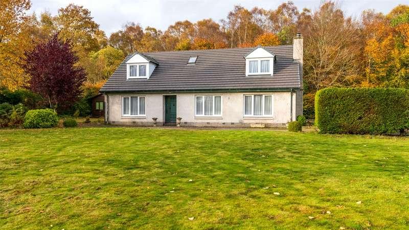4 Bedrooms Detached House for sale in Benshie Cottage, Oathlaw, Forfar, DD8