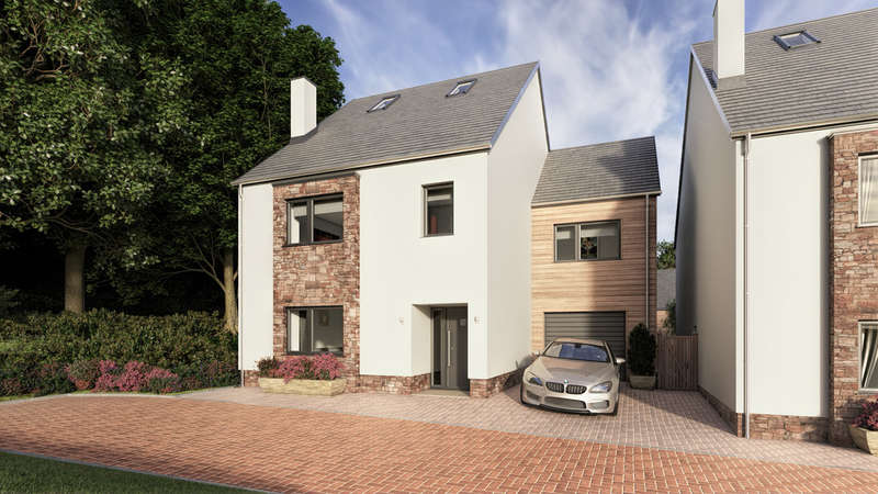 4 Bedrooms Detached House for sale in The Redwood, Stowford Mill, Ivybridge