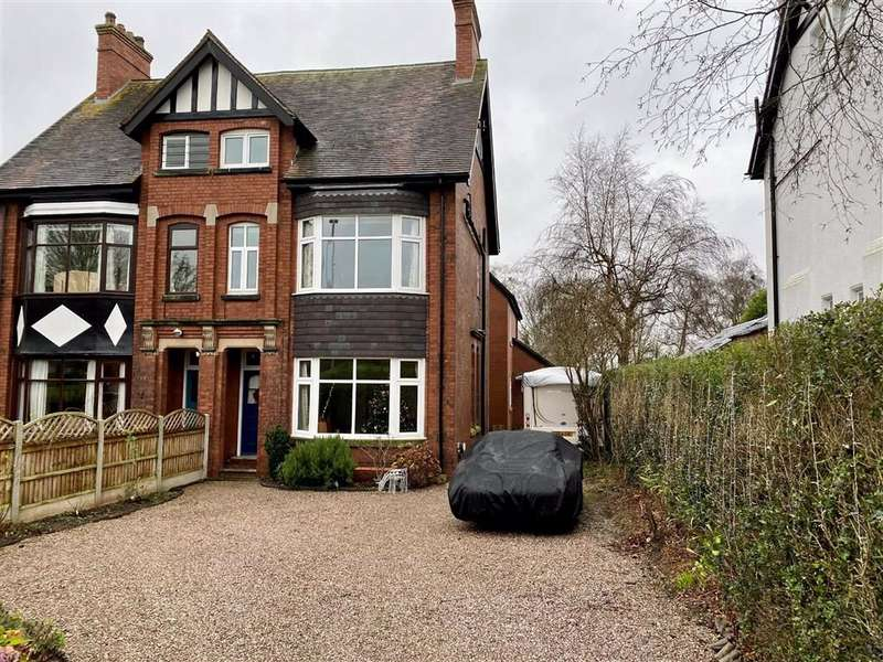 6 Bedrooms Semi Detached House for sale in Oulton Road, Stone