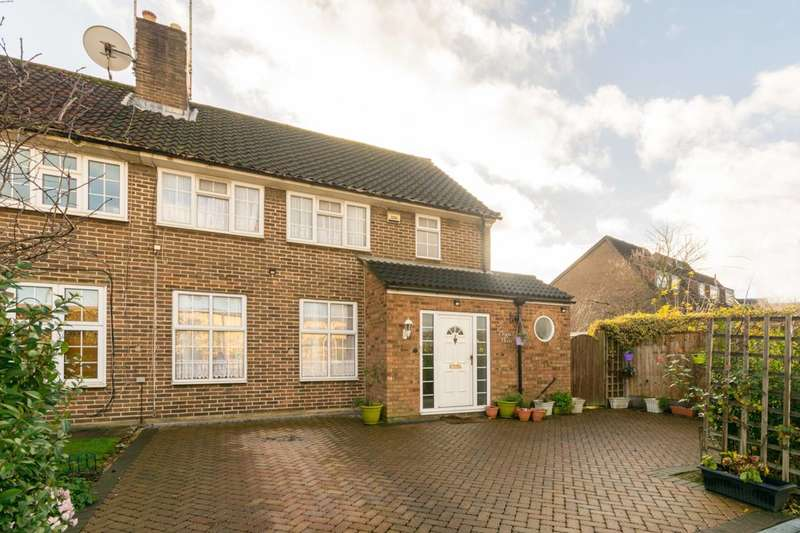 3 Bedrooms Semi Detached House for sale in Moyne Place, West Twyford, NW10