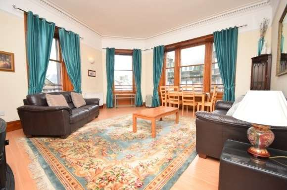 2 Bedrooms Flat for rent in Queensgate, Inverness