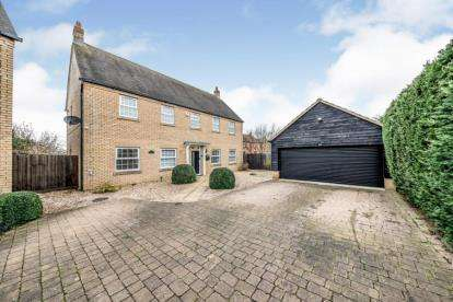 5 Bedrooms Detached House for sale in Longmeadow Drive, Wilstead, Bedford, Bedfordshire