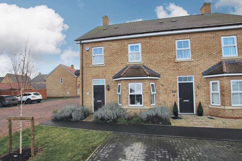 3 Bedrooms Semi Detached House for sale in Carter Meadow, Biggleswade, SG18