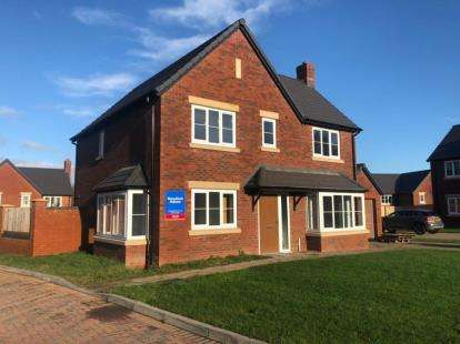 3 Bedrooms Detached House for sale in Kingfisher Way, Morda, Oswestry, SY10