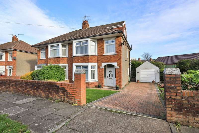 4 Bedrooms Semi Detached House for sale in Fairfield Road, Penarth