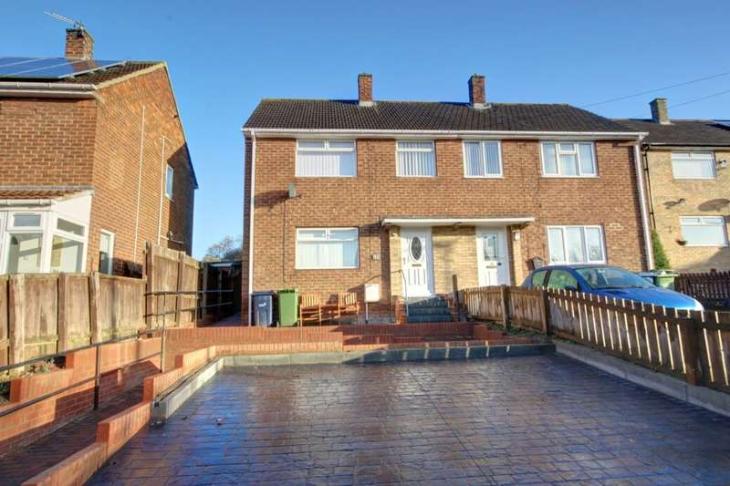 3 Bedrooms Semi Detached House for rent in Newburn Crescent, Houghton Le Spring, DH4
