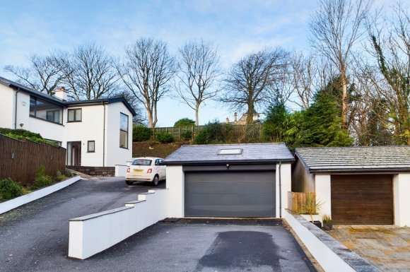 4 Bedrooms Detached House for sale in Clifflands Close, Mumbles, Swansea, SA3
